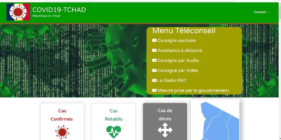 Une plateforme contre le Covid-19 voit le jour au Tchad. ©Kelvin Mendig-lembaye Djetoyo/Alwihda Info