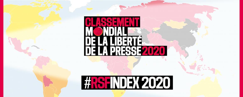 Liberté de la presse : Le Tchad à la 123e place dans le classement mondial. © RSF