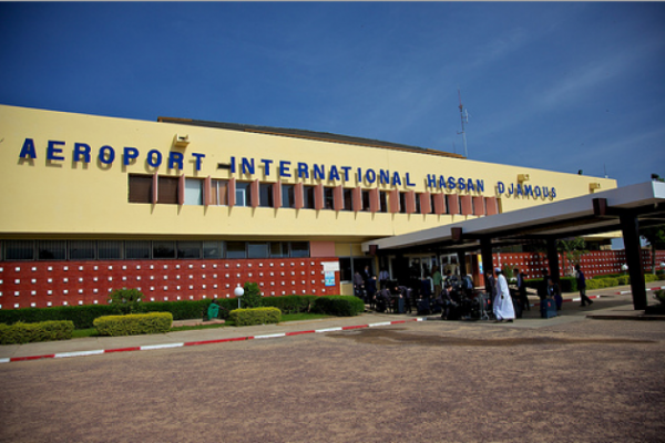 L'aéroport international de N'Djamena. © DR