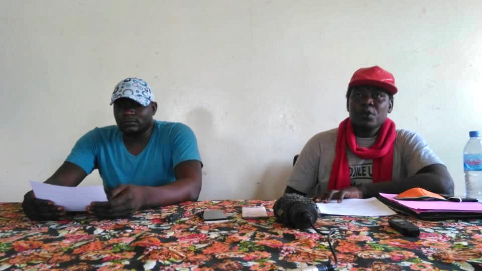 L'artiste Dah-zia et le collectif Tandjilé Unie. © Malick Mahamat/Alwihda Info