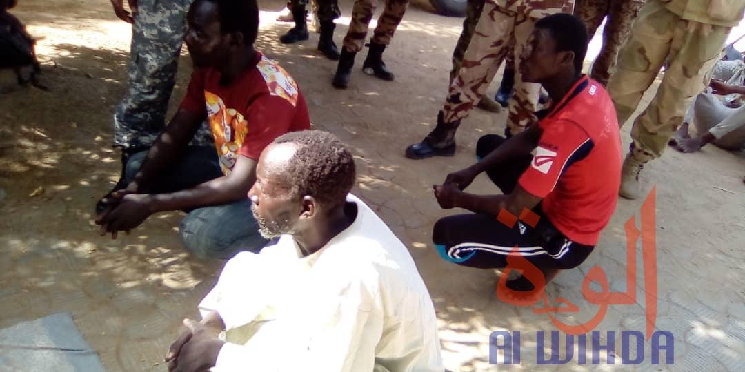 Tchad : la gendarmerie met la main sur des voleurs de motos et trafiquants. © Mahamat Abdramane Ali Kitire/Alwihda Info
