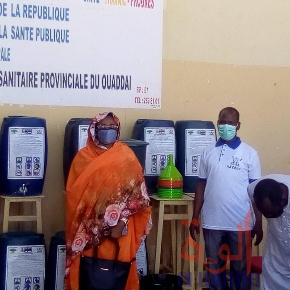 Tchad - Covid-19 : la délégation sanitaire du Ouaddaï reçoit un appui matériel