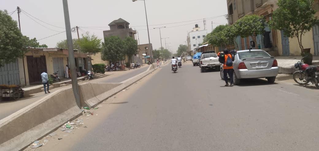 La ville de N'Djamena. © Djibrine Haïdar/Alwihda Info
