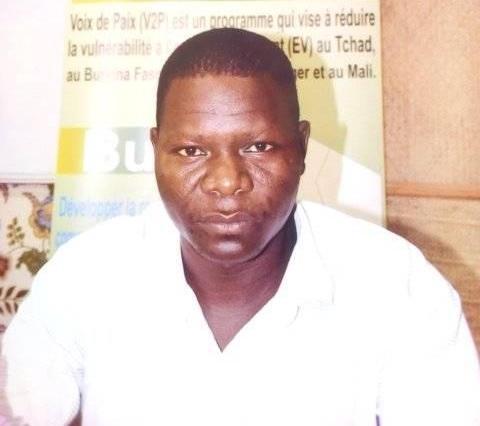 Mbainaissem Gedeon Mbeibaroum, correspondant provincial d'Alwihda Info au Hadjer Lamis.