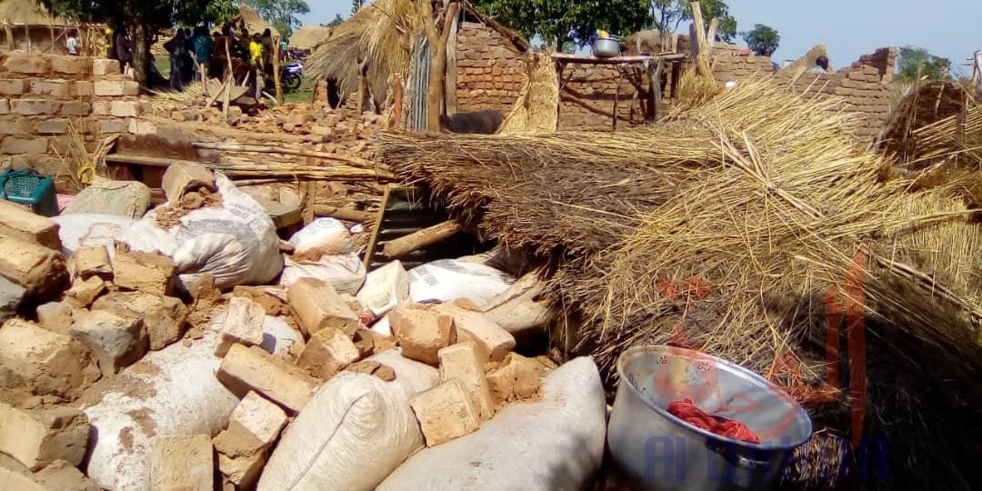 Tchad : une tornade fait des victimes et des dégâts dans le département de Gagal. © Foka Mapagne/Alwihda Info