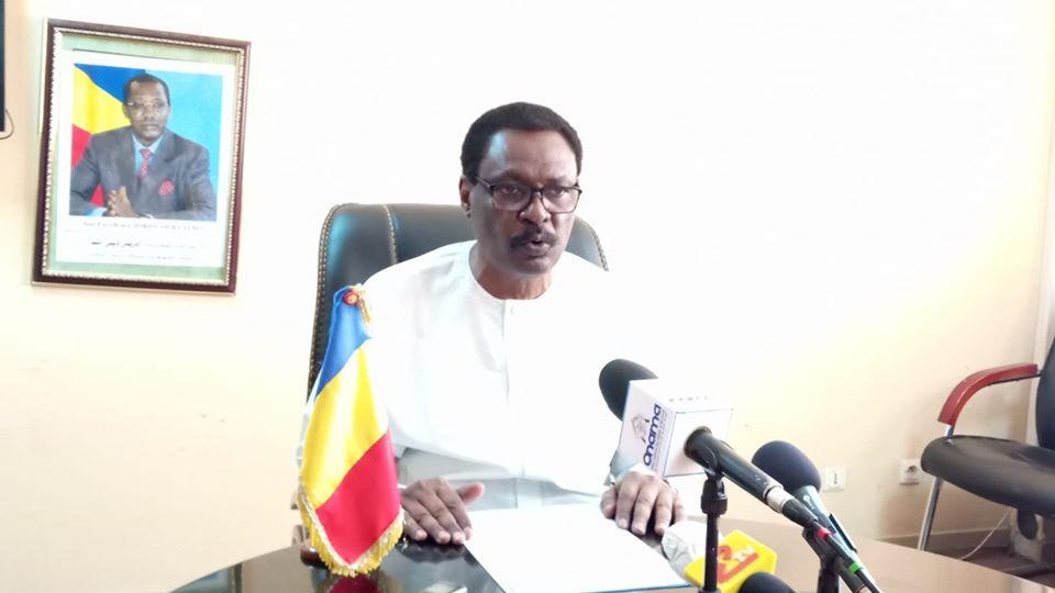 Le ministre de la Santé publique, Pr. Mahamoud Youssouf Khayal.