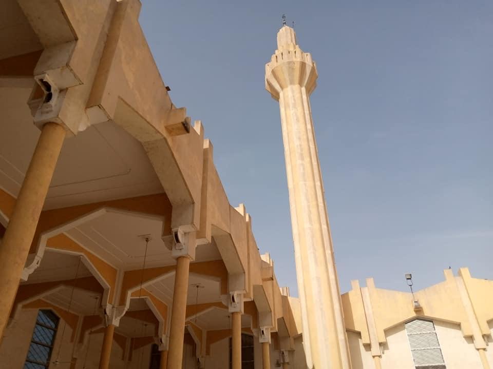 La grande mosquée de N'Djamena. © Dr/CSAI