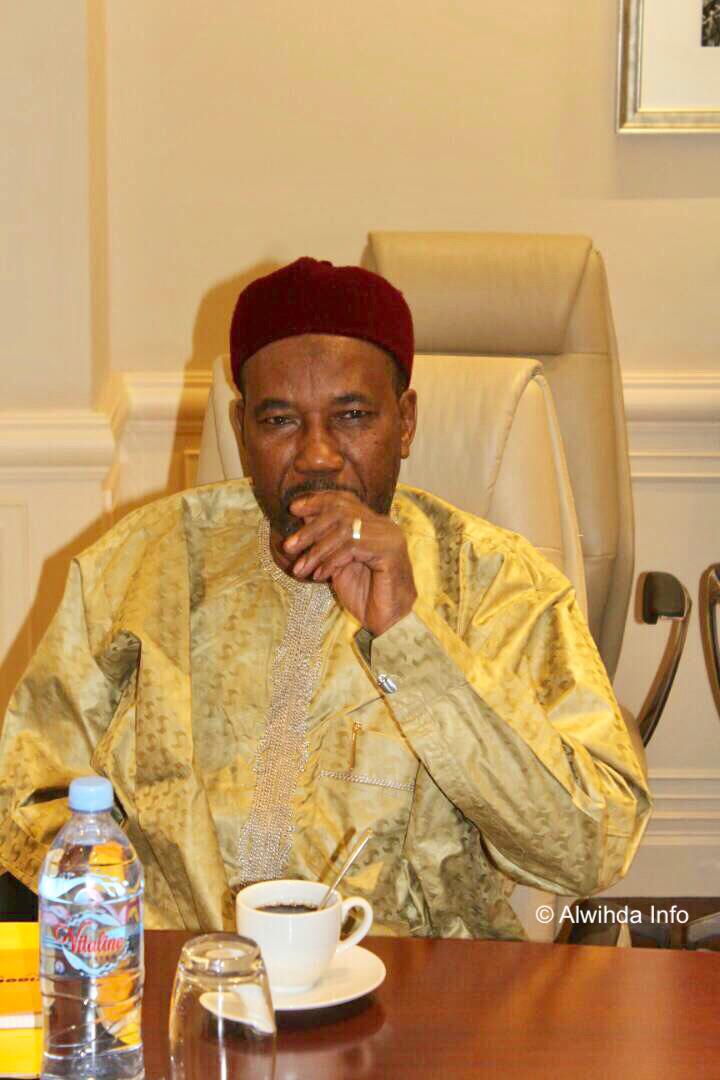 Le secrétaire général du parti MPS, Mahamat Zen Bada. © Alwihda Info