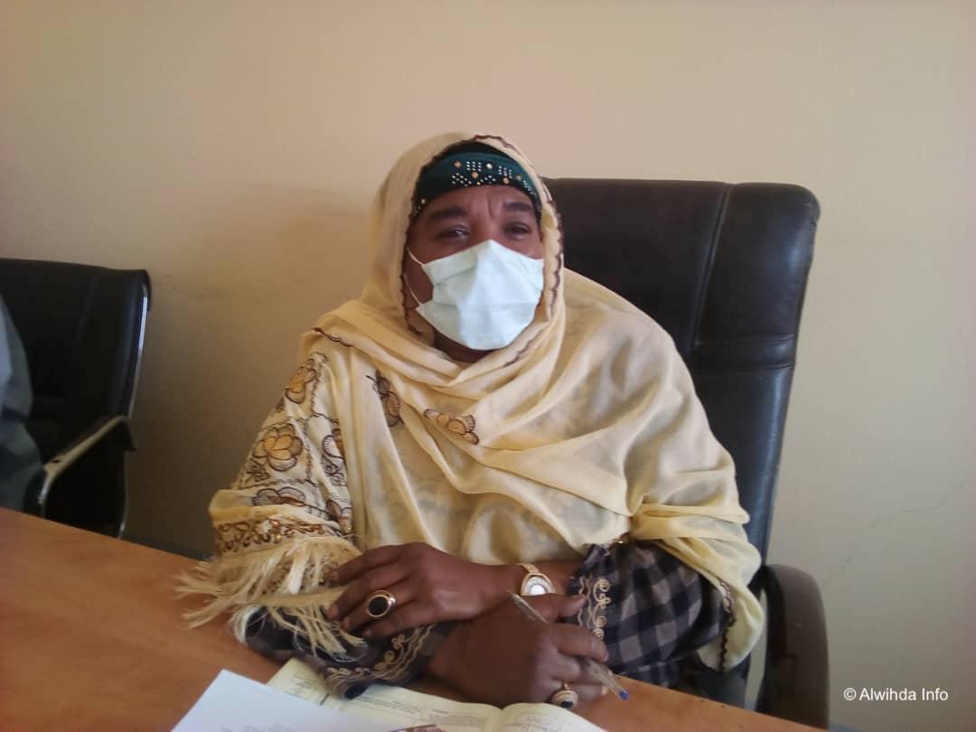 Le gouverneur de la province de Hadjer Lamis, Dr. Haoua Outman Djamé. ©Mbainaissem Gédéon Mbeïbadoum/Alwihda Info