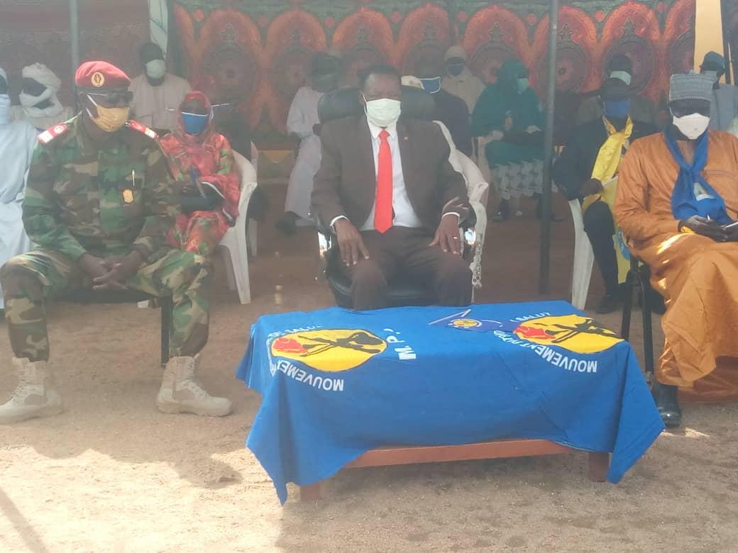 Tchad : à Mongo, des dons de vivres offerts à l'armée. ©Béchir Badjoury/Alwihda Info