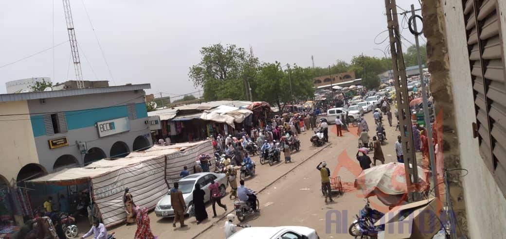 Vue de la ville de N'Djamena. © Ben Kadabio/Alwihda Info