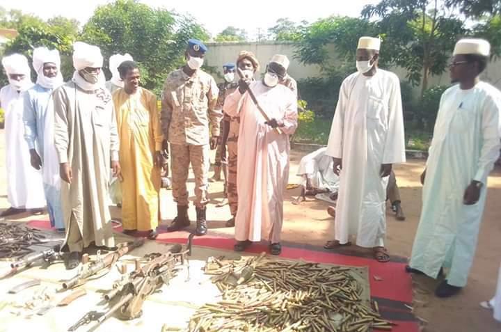 Tchad : plusieurs armes de guerre saisies au Logone Oriental, des arrestations