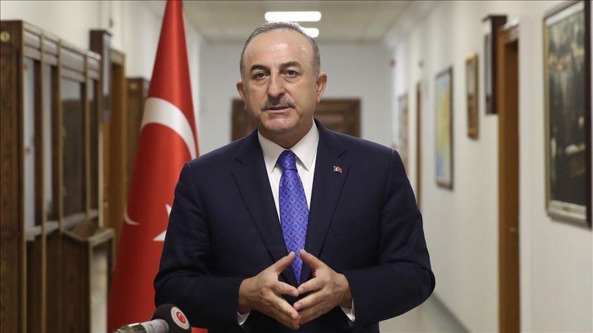 Le ministre turc des Affaires étrangères, Mevlut Cavusoglu. © Dr