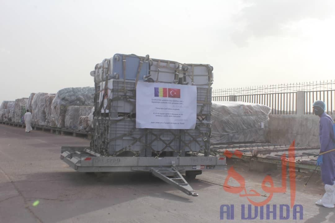 Tchad : un avion militaire turc se pose à N'Djamena avec du matériel médical