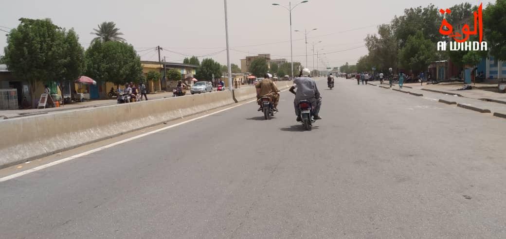 La circulation à N'Djamena. Illustration. © D.H./Alwihda Info