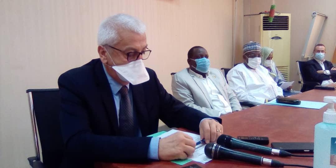 Un atelier axé les activités de réponse au Covid-19 lancé le 27 mai 2020 à N'Djamena. © Mahamat Abdramane Ali Kitire/Alwihda Info