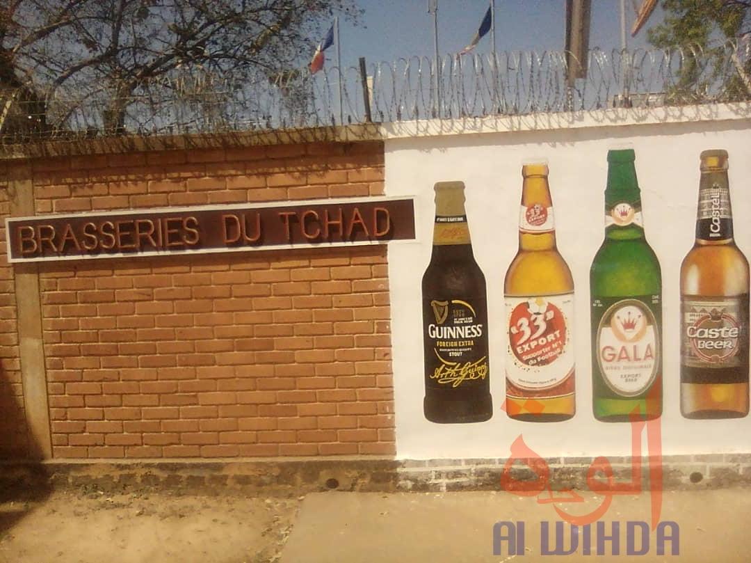 Les Brasseries du Tchad à Moundou. © Golmen Ali/Alwihda Info