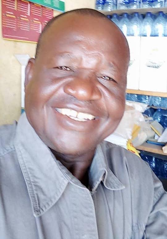 Le président de l'association des grossistes du secteur sud des Brasseries du Tchad, Mbainda Tamtoloum. © Dr