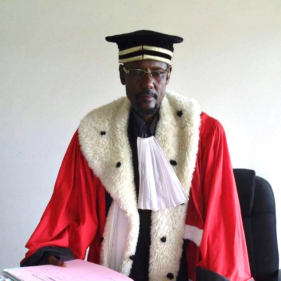 Boukar Sidick, président de la Chambre d'accusation de la Cour d'appel de N'Djamena. ©DR