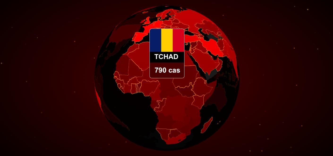 Tchad - Covid-19 : le nombre de cas dans les 13 provinces touchées