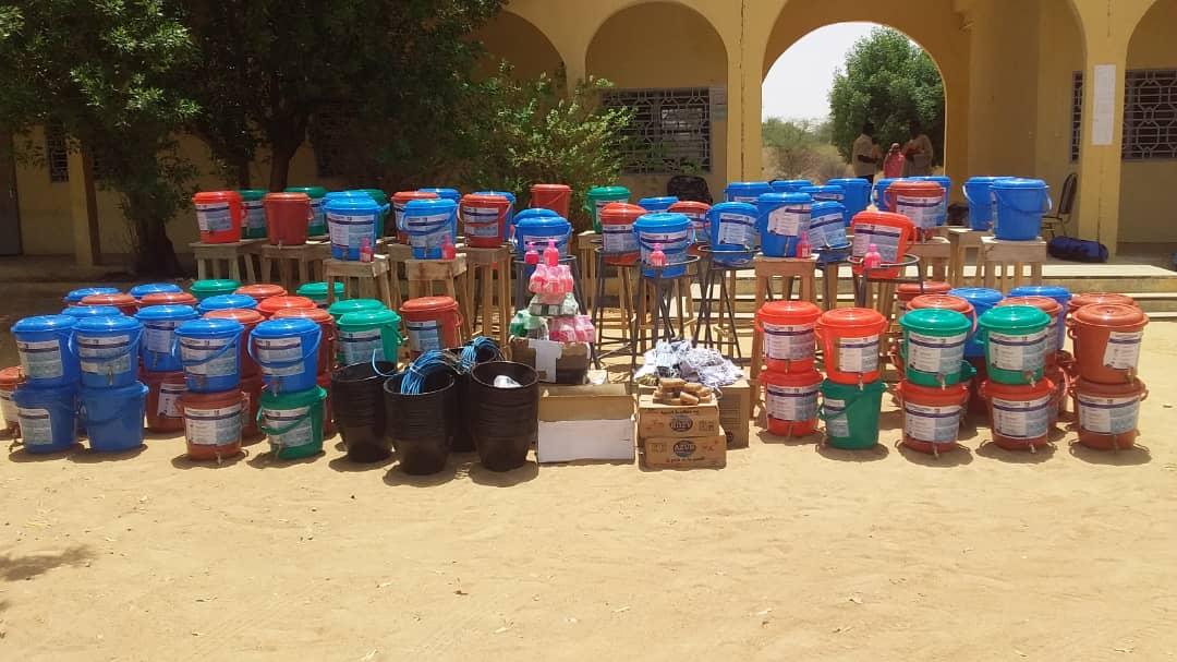 Tchad-Covid19 : Le groupe AGB fait un don à la province du Batha : ©️ Hassan Djidda/Alwihda Info