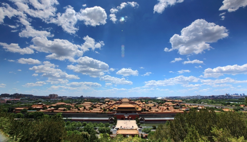 Photo taken on May 27 shows a view of the Palace Museum. Photo by Ding Bangxue/People's Daily Online