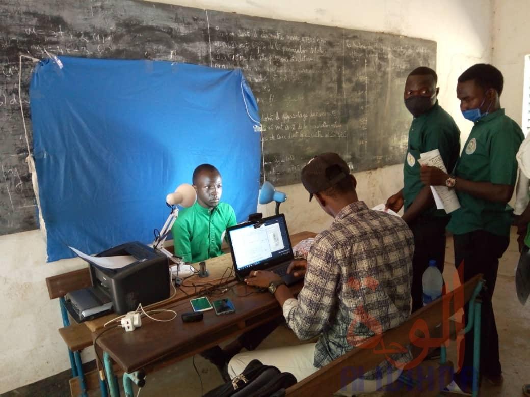 Tchad - Baccalauréat : à Moundou, enrôlement de plus de 4000 candidats. ©Golmem Ali/Alwihda Info