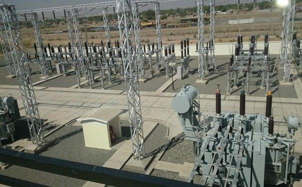 Une installation électrique de la Société nationale d'électricité au Tchad. ©DR/SNE