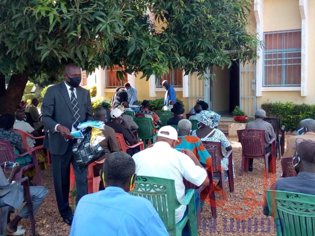Tchad : à Moundou, la CNPS entame le paiement du deuxième trimestre. © Golmem Ali/Alwihda Info