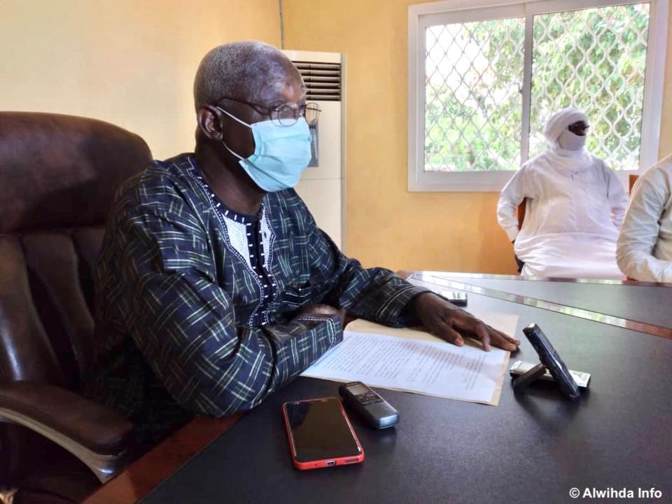 Tchad : violation du port de masque au Logone Occidental, des amendes systématiques dès demain. © Golmem Ali/Alwihda Info