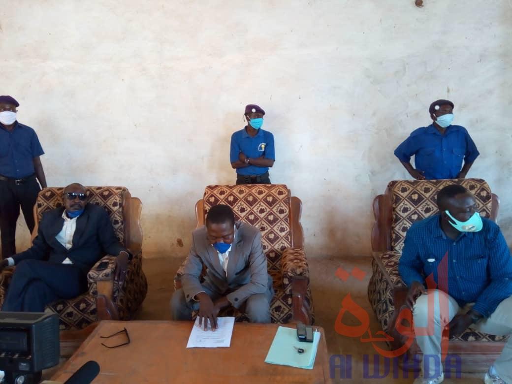 """Tchad : à Moundou, les délégués du personnel de la mairie évoquent """"un nouveau souffle"""". © Golmem Ali/Alwihda Info"""