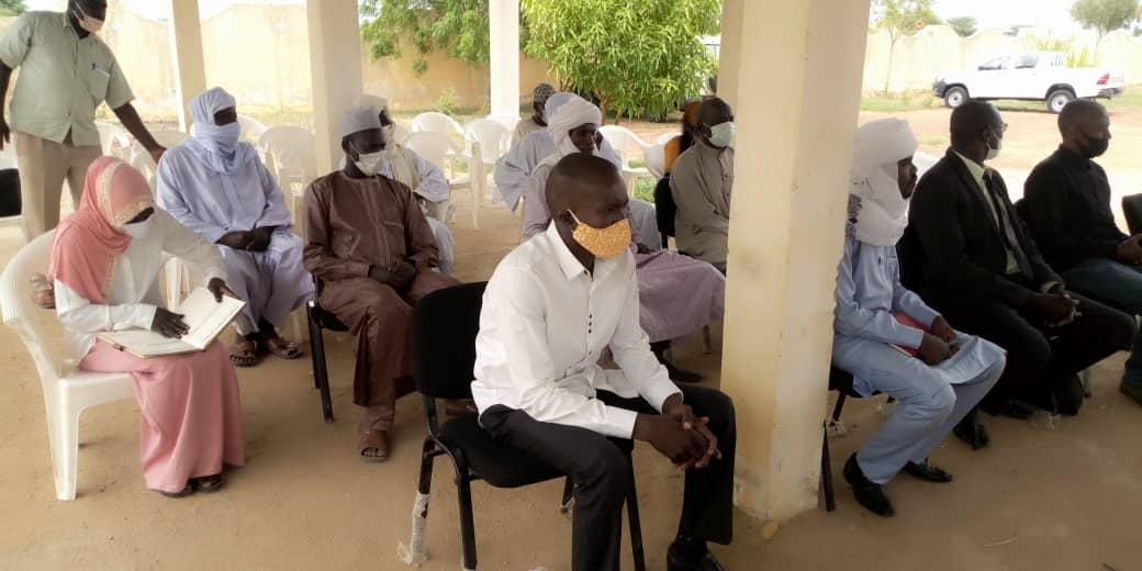 Tchad - Covid-19 : l'ONAJES apporte son appui à la province du Guéra. © Béchir Badjoury/Alwihda Info