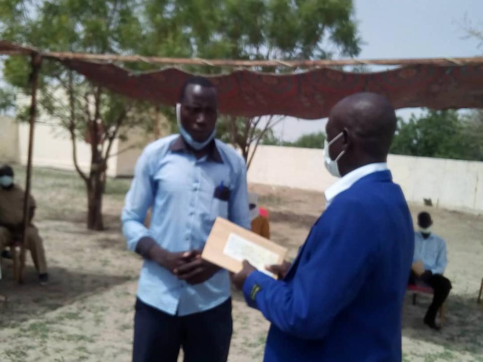 Tchad : au Hadjer Lamis, un appui de 7,8 millions FCFA à 5 jeunes promoteurs. ©Mbainaissem Gédéon Mbeïbadoum/Alwihda Info