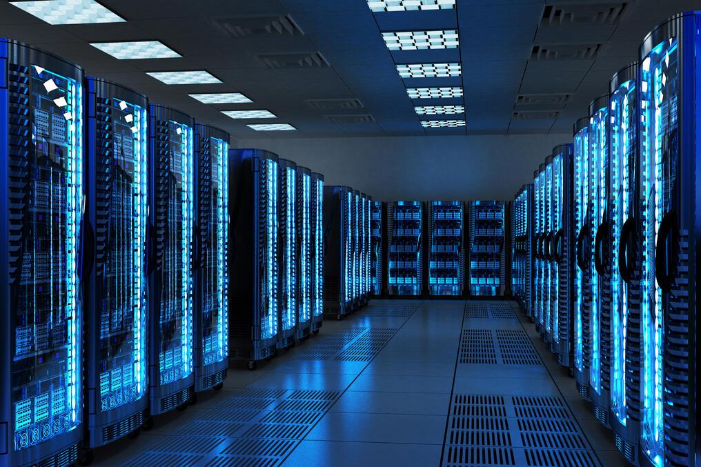 Un data center. Illustration © DR
