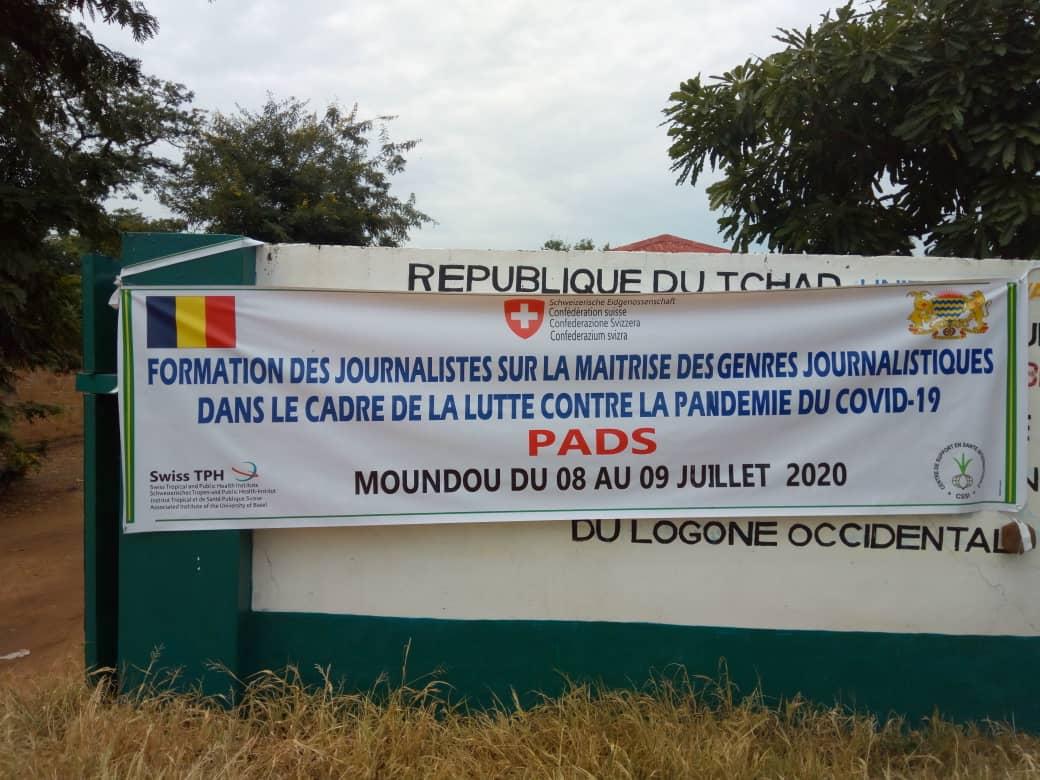 Tchad - Covid-19 : à Moundou, des journalistes de trois provinces formés pour leur renforcement. ©Golmem Ali/Alwihda Info