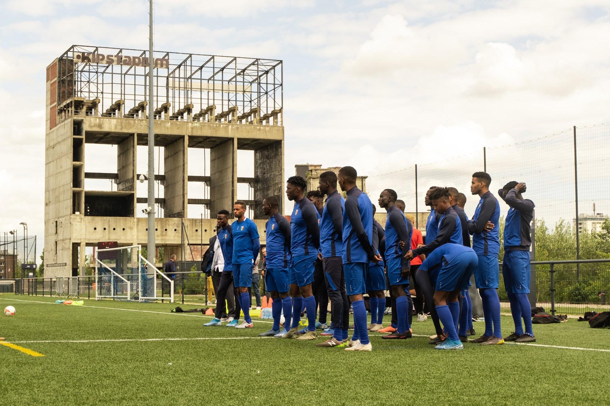 Football : la marque Kipsta devient l'équipementier des SAO du Tchad. ©DR/Kipsta