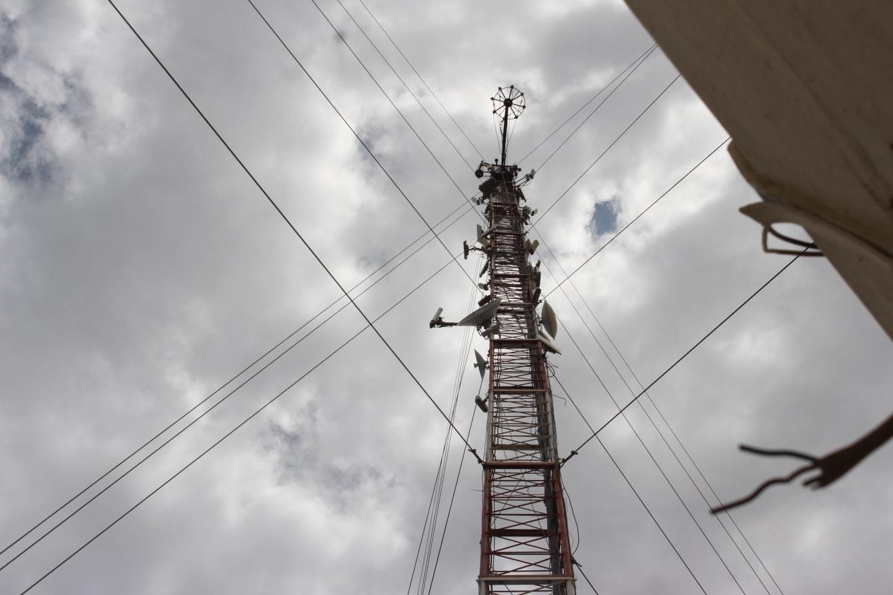 Une antenne réseau au Tchad. Illustration © DR/ARCEP