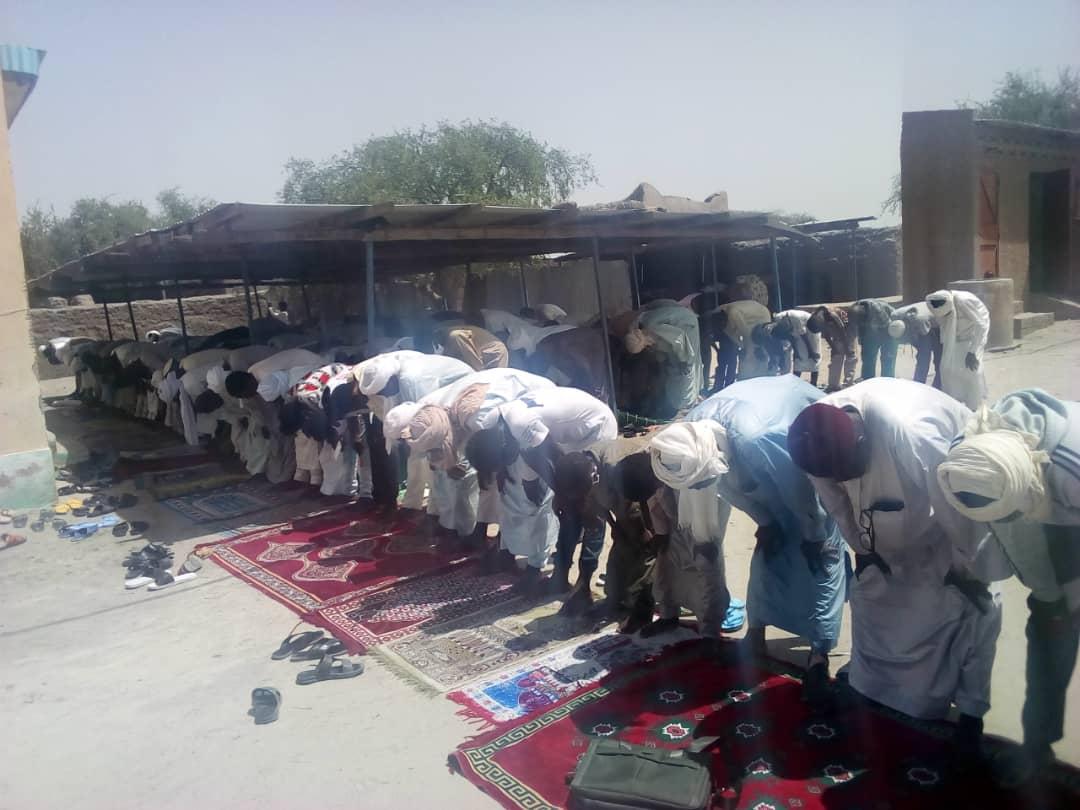 Tchad : à Massakory, des lots de masques offerts aux mosquées de la ville. ©Mbainaissem Gédéon Mbeïbadoum/Alwihda Info
