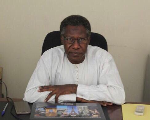 Mahamat Nour Ibedou, secrétaire général de la Convention tchadienne de défense des droits de l'Homme (CTDDH).