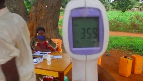 Tchad - Covid-19 : au Mandoul, des contrôles de température efficaces aux entrées de Koumra. © Golmem Ali/Alwihda Info