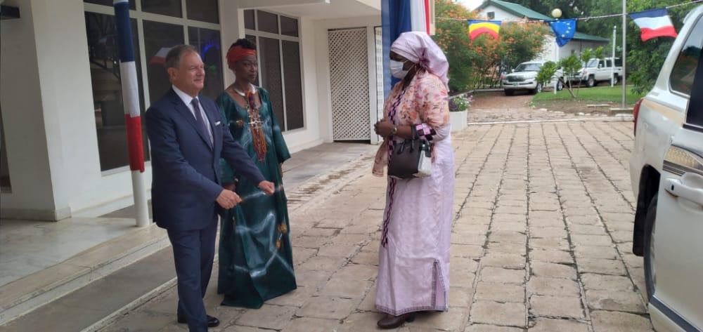 Tchad : passé colonial, l'ambassadeur de France prône le chemin de la réconciliation, le débat et la vérité. © Ben Kadabio/Alwihda Info