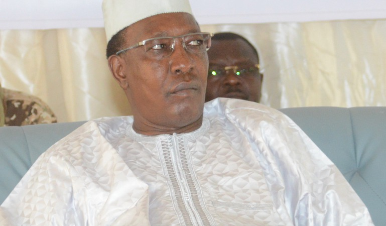 Le chef de l'État Idriss Déby. © Alwihda Info