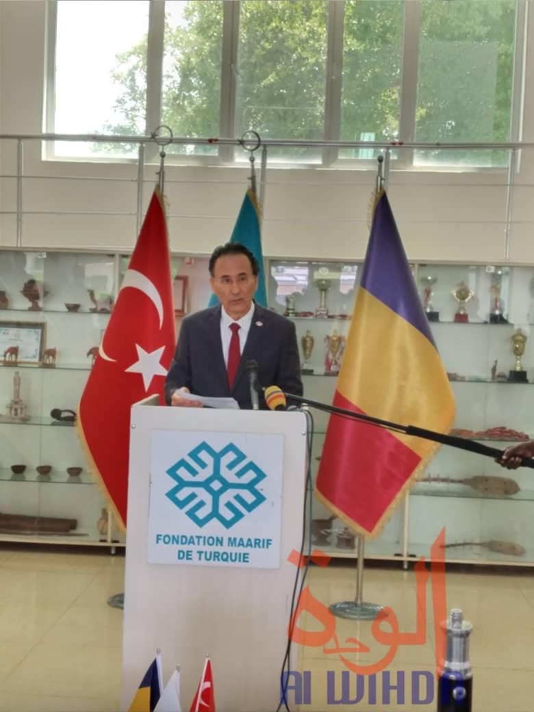L'ambassadeur de Turquie au Tchad, Kemal Kaygisiz. © Malick Mahamat/Alwihda Info