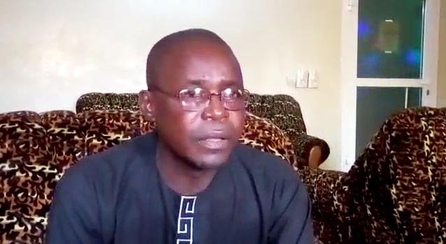 Le président du Collectif tchadien contre la vie chère (CTCVC), Dingamnayal Nely Vernisis. © Golmem Ali/Alwihda Info