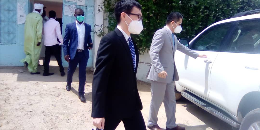 Tchad : visite d'un représentant de l'Ambassade de Chine à Alwihda Info