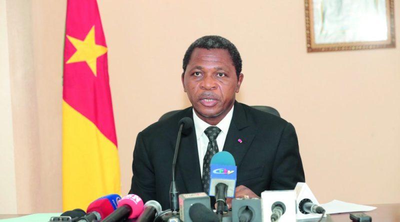 Le ministre de l'Administration territoriale, Paul Atanga Nji.
