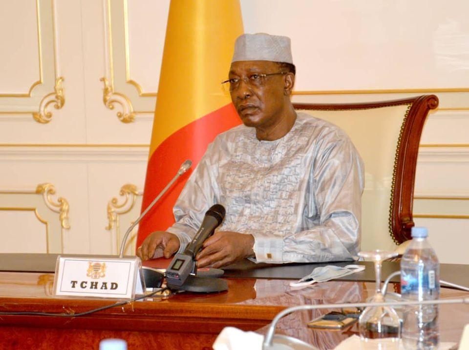Le chef de l'État Idriss Déby. ©PR