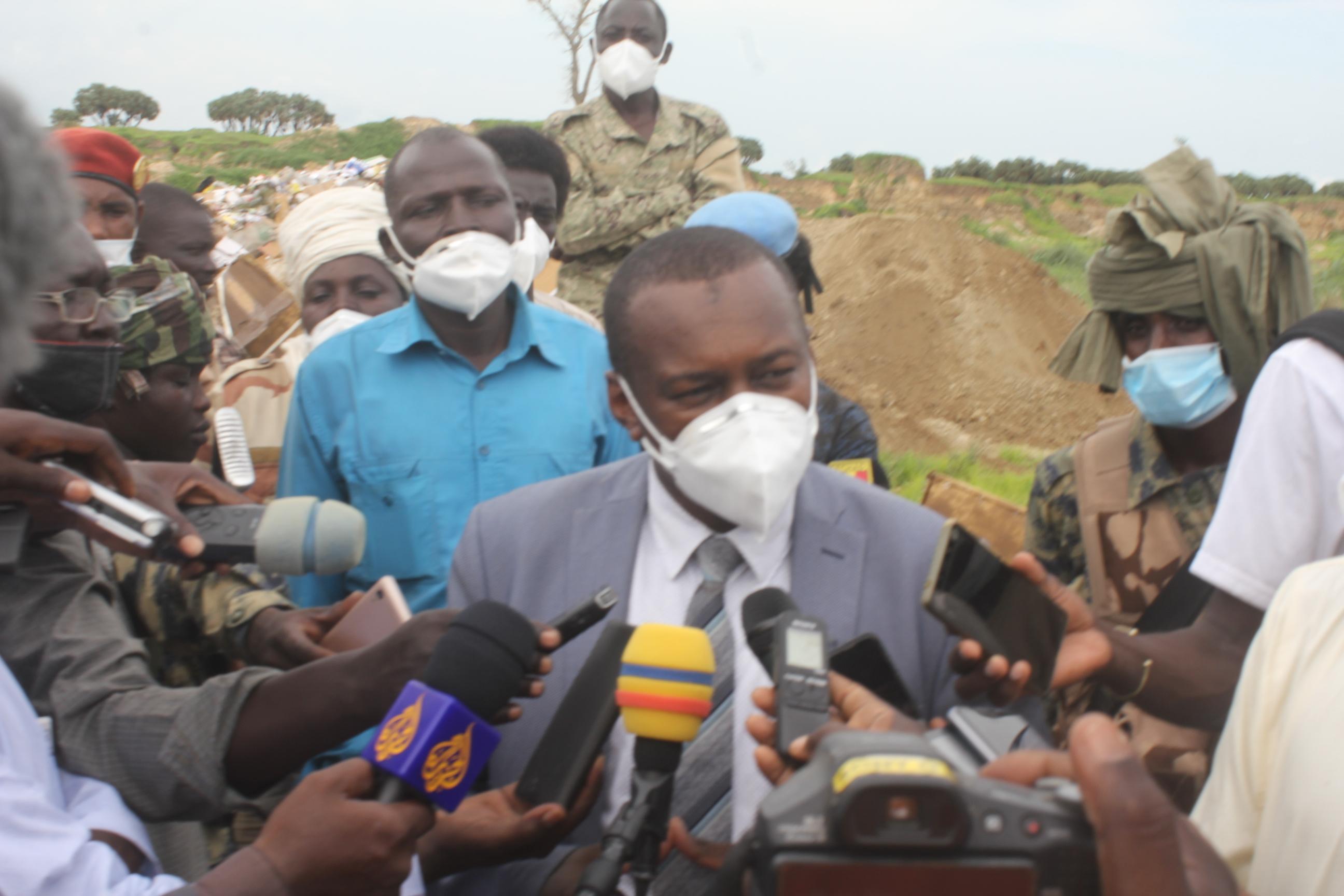 Le secrétaire d'État à la Santé publique, Dr. Djiddi Ali Sougoudi. © Kelvin Djetoyo/Alwihda Info