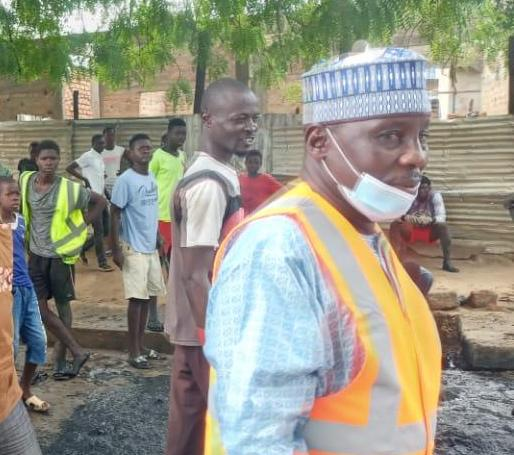 Le maire de la ville de N'Djamena, Oumar Boukar. Illustration © Malick Mahamat/Alwihda Info