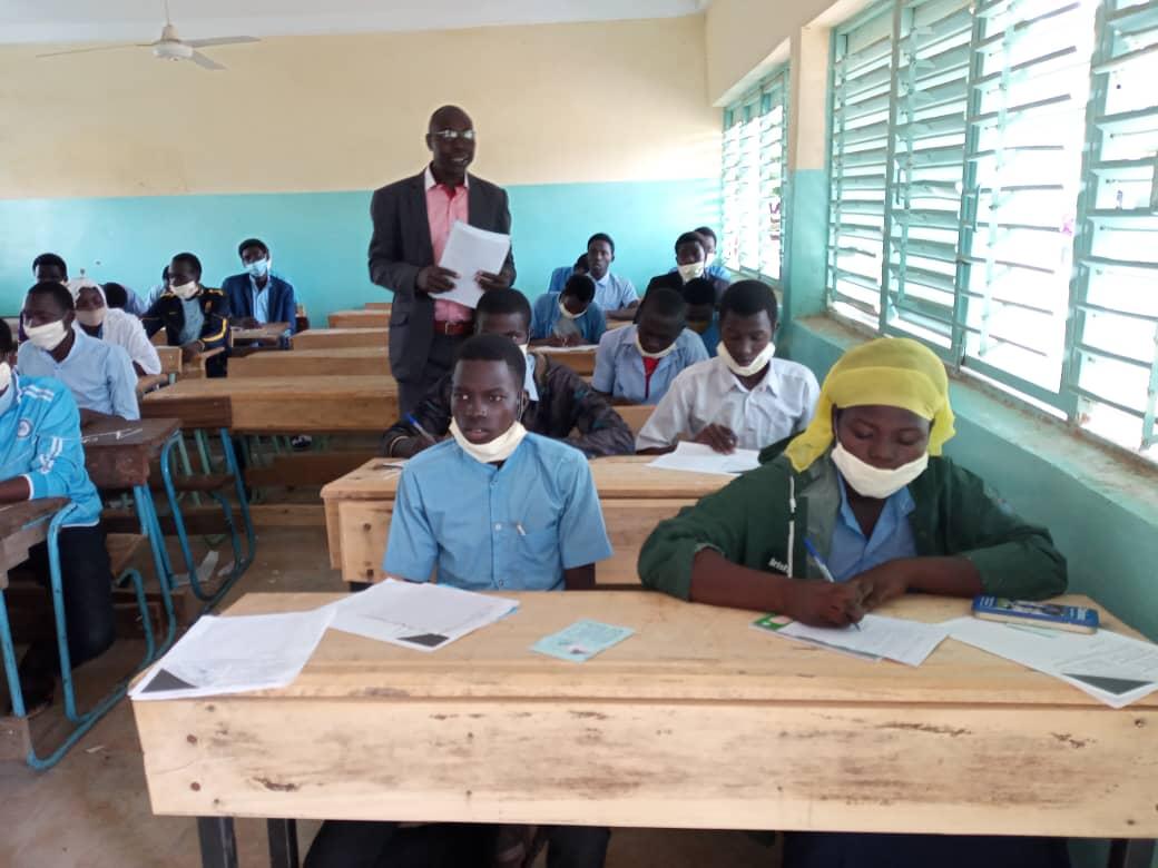 Tchad : lancement des épreuves du BEF à Goz Beida, chef-lieu du Sila. © Mahamat Issa Gadaya/Alwihda Info